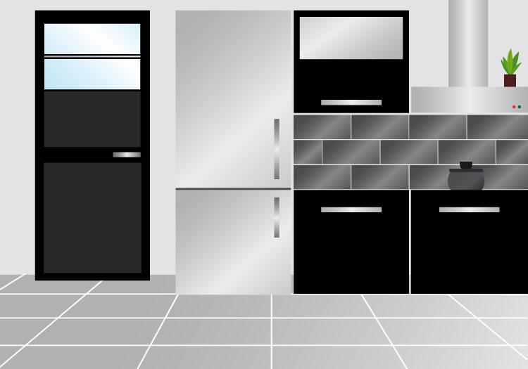 Aiello ceramiche elettrodomestici e accessori - Rivestimenti cucina in muratura ...